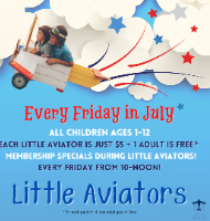 Little Aviators Every Friday