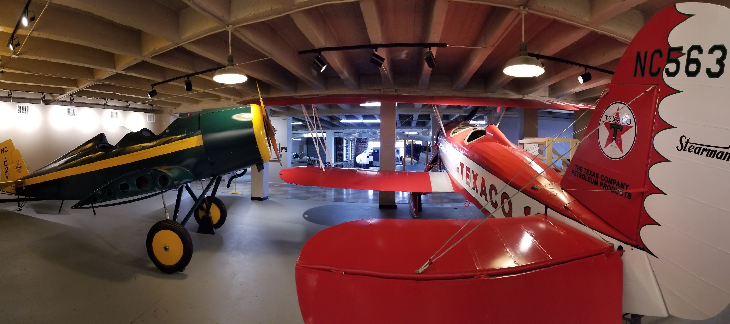 Explore the Kansas Aviation Museum
